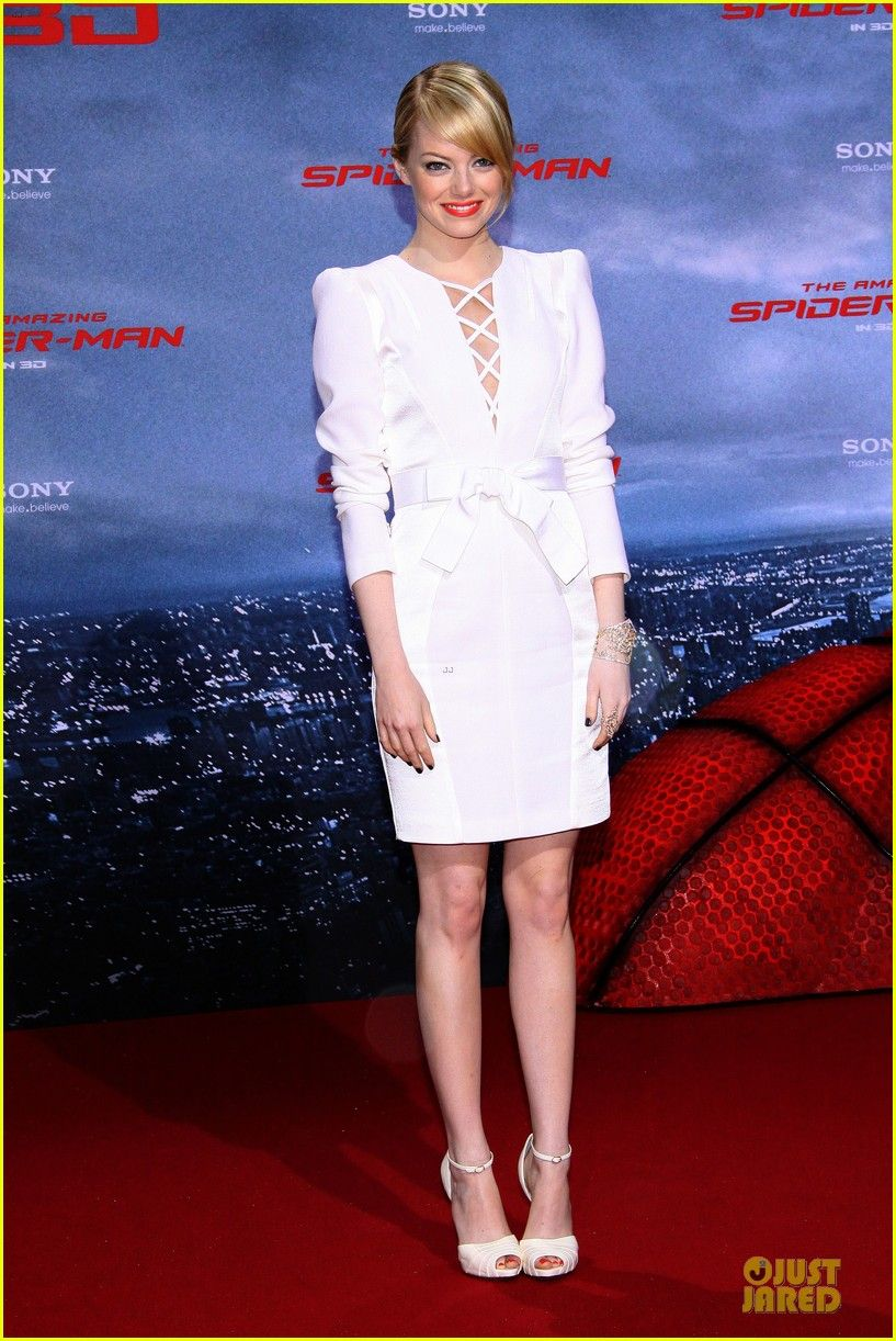 Emma Stone in an Andrew Gn dress Red Carpet Style Pinterest