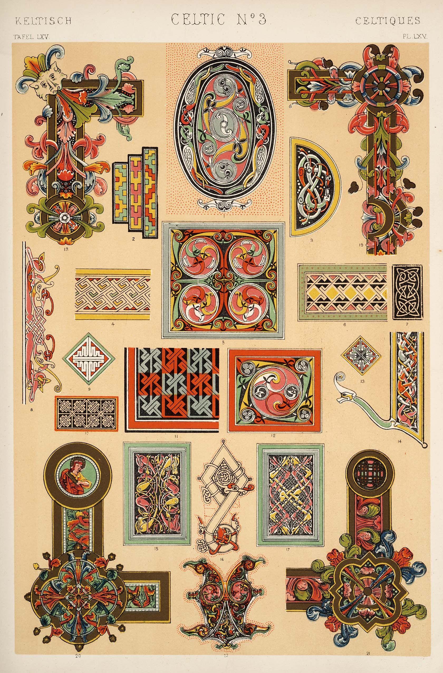 The Grammar Of Ornament, Owen Jones, 1910 - Retronaut