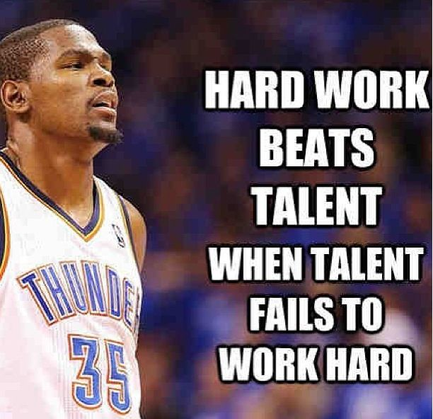 Hard Work Never Fails Quotes: Kevin Durant Famous Quotes. QuotesGram