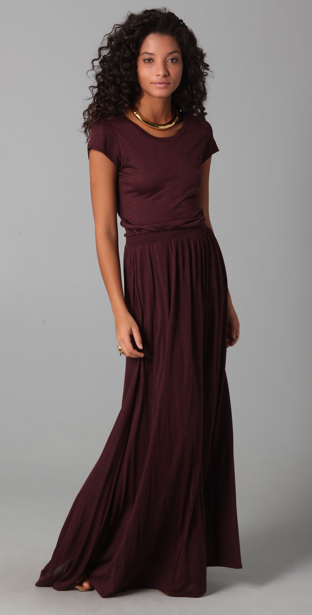 Maxi tee dress retail therapy clothes and summer