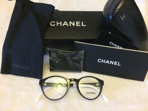 d73c5081e618 New Authentic Coco Chanel Eyeglasses 3231 C 501 Made in Italy 47mm Free s H