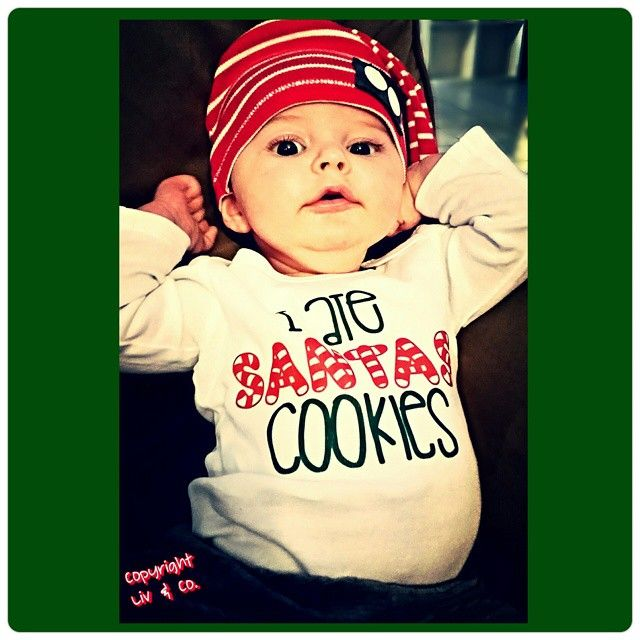 a21a72057e I Ate Santa's Cookies Funny Christmas Baby Outfit, One Piece, Bodysuit, Toddler  Christmas Shirt, Holiday Outfit, Girl Christmas, Boy Christmas, By Liv & Co.