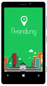 Like us on facebook for #AplikasiBandungJuara in : bit.ly/nyandung_like