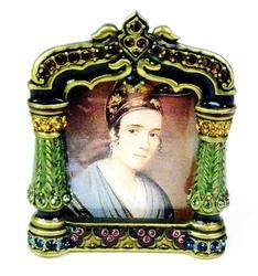 Gorgeous Jay Strongwater Small Ornate Picture Frame