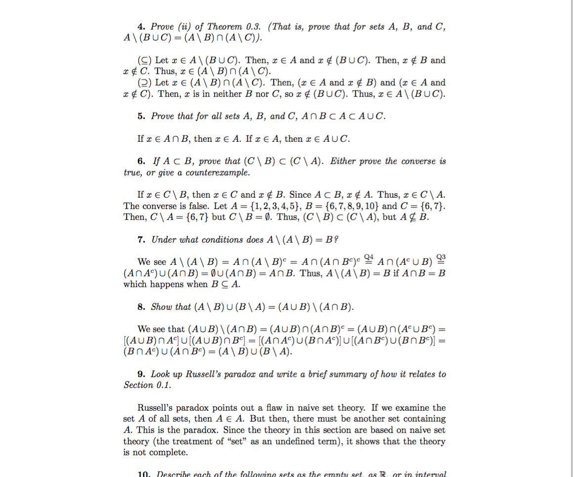 analysis with an introduction to proof solutions 5th