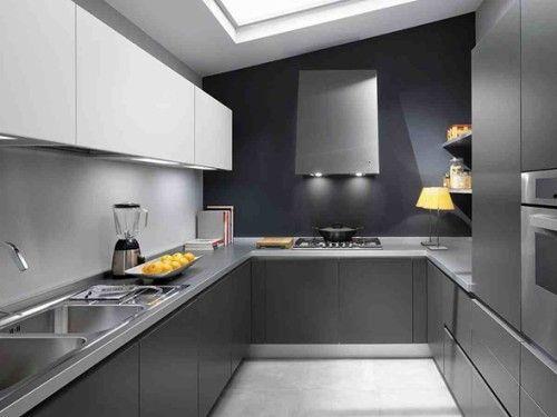 Cocinas Modernas con Color Gris | Colores grises, Cocina moderna y Gris