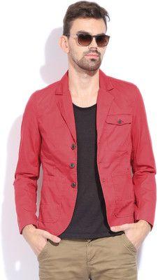 d1d3079d2e13 Buy Lee Solid Casual Men's Blazer Online at Best Prices In India | Flipkart .com