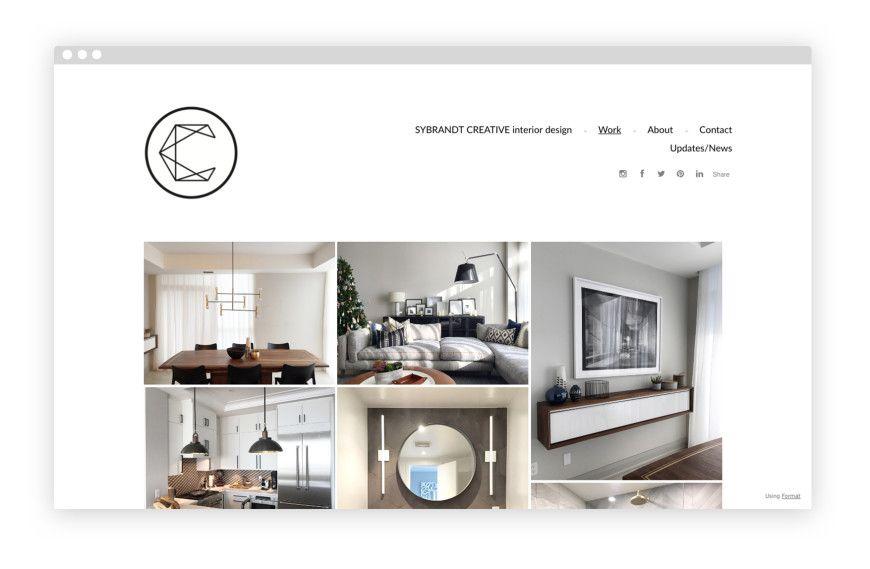 10 Carefully Curated Interior Design Portfolios Interior