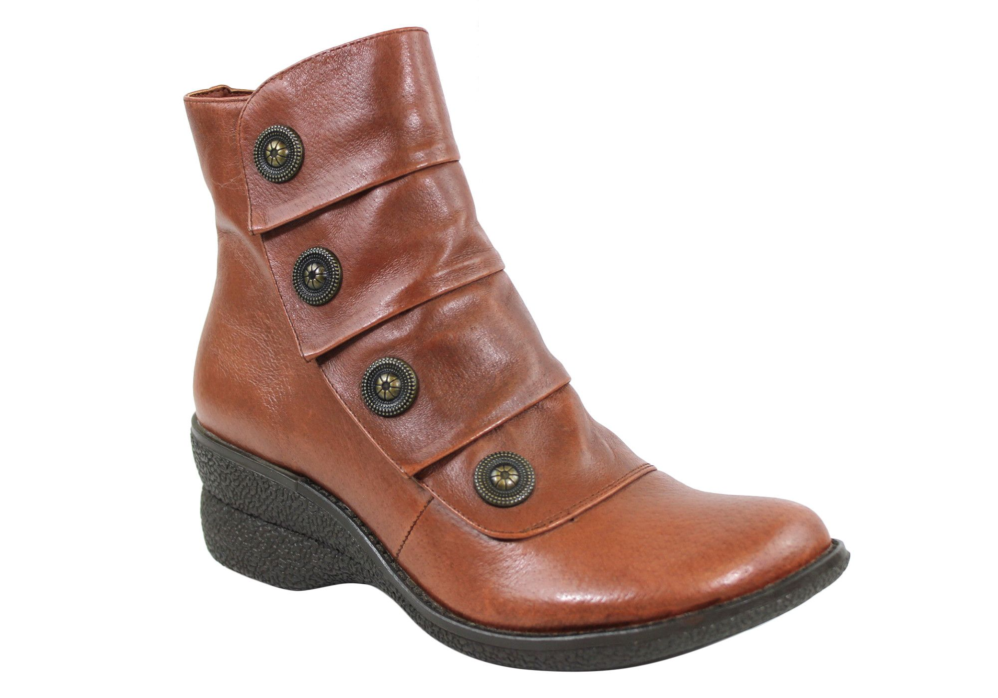 Miz Mooz Ora Womens Leather Ankle Boots