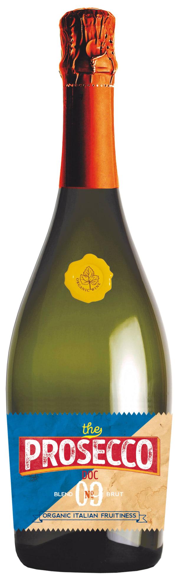 Blend No 09 Prosecco Brut Luomu Italia  Erittäin kuiva, keskihapokas, sitruksinen, kevyen päärynäinen, hennon viheromenainen