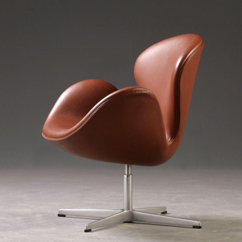 Deri Swan Chair