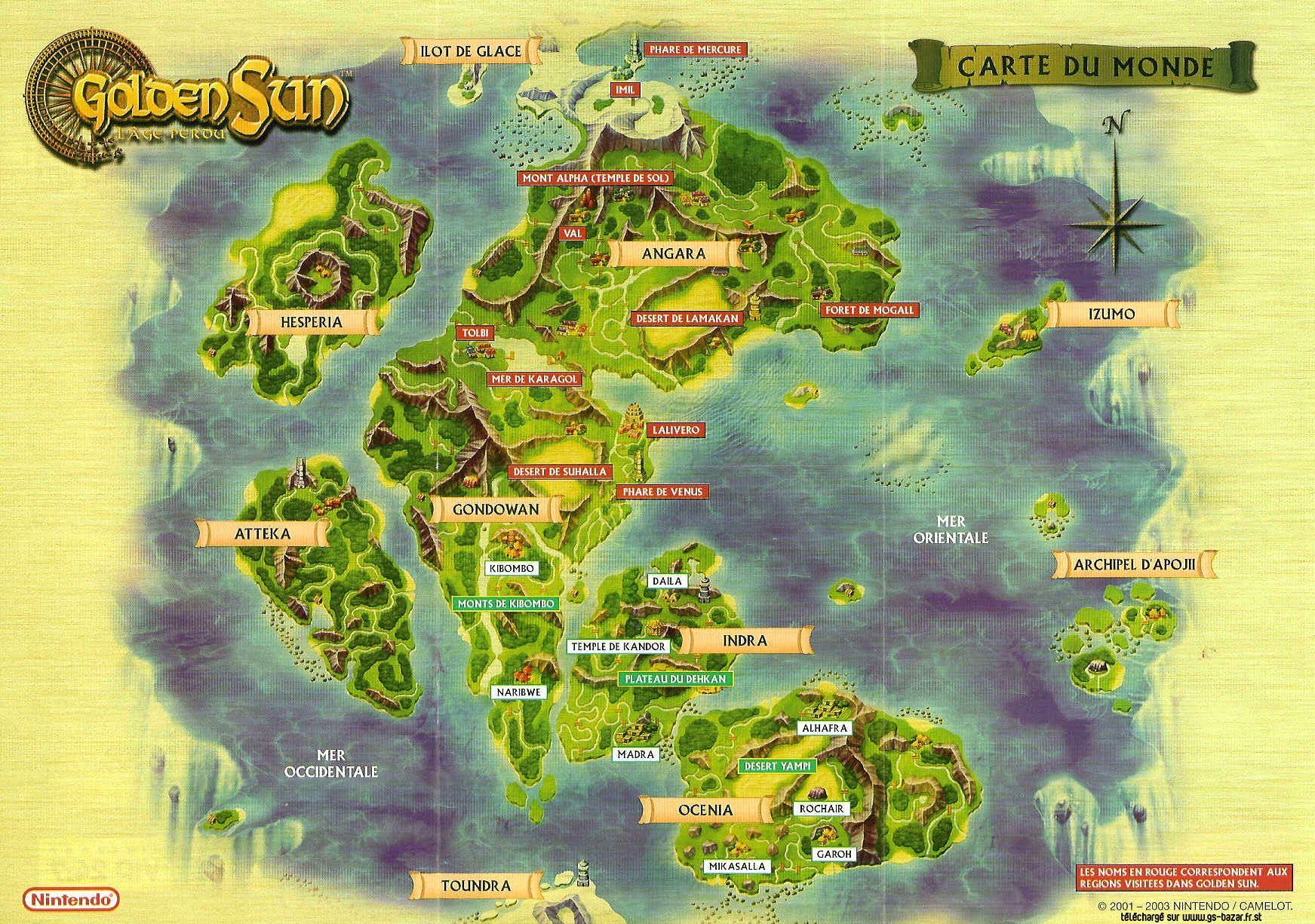 mapas fantasticos - Buscar con Google | Golden Sun | Golden ...