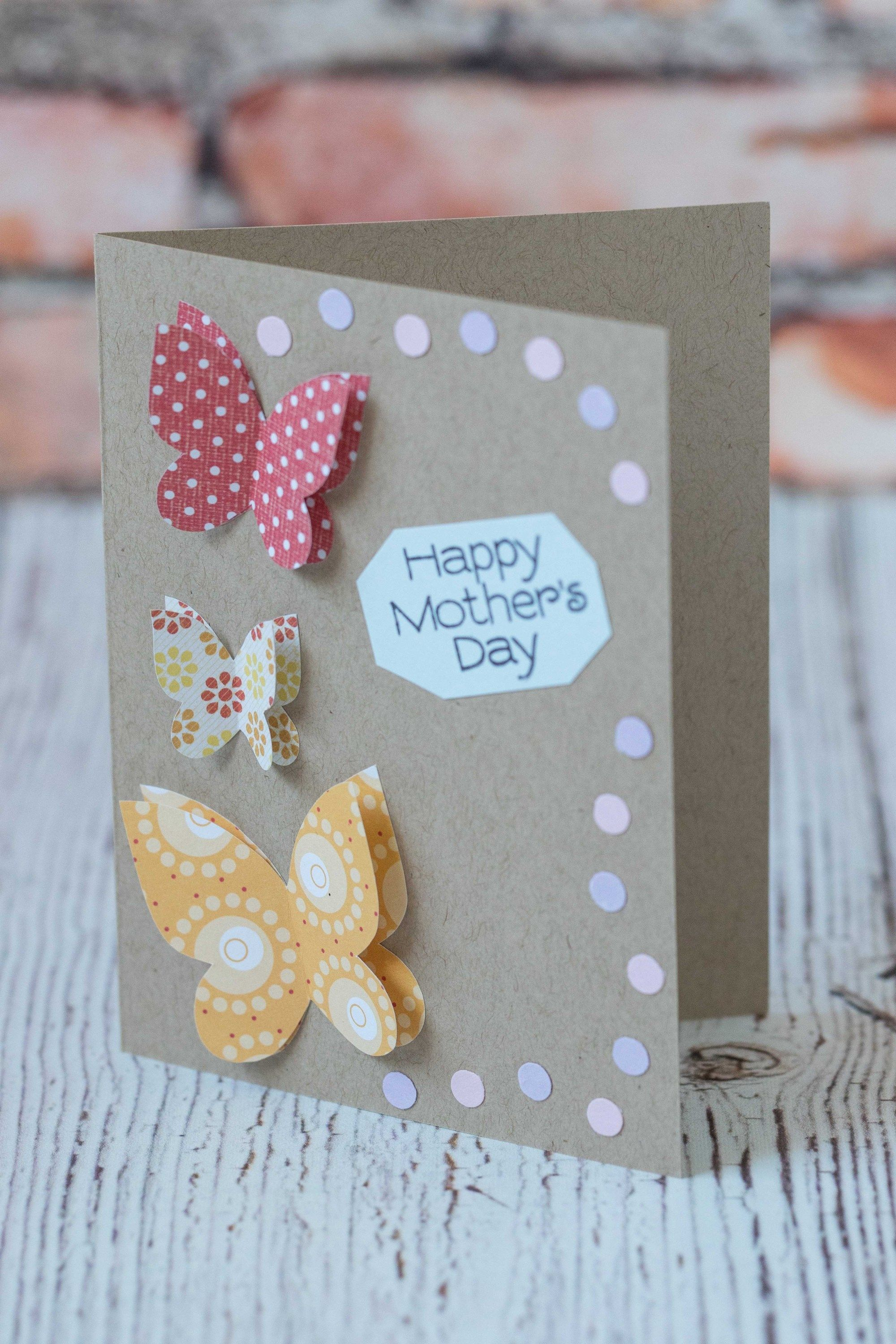 10 simple diy mother's day cards  simple birthday cards