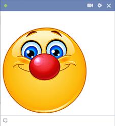 Red Nose Smiley Cute Emoji Wallpaper Emoticon Smiley