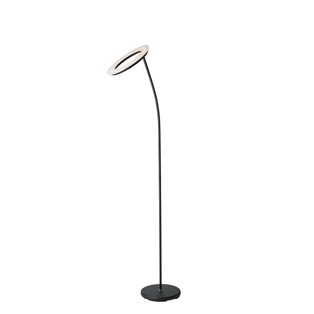 Led Halo Torchiere Floor Lamp