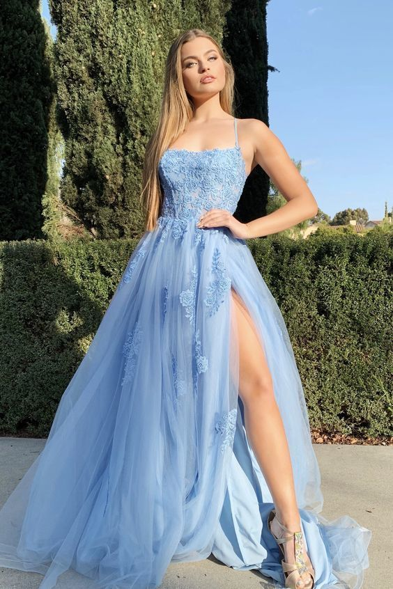 Prom Dress with Applique and Beading Long Prom Dresses 8th Graduation Dress Formal dresses dresses CR 9348