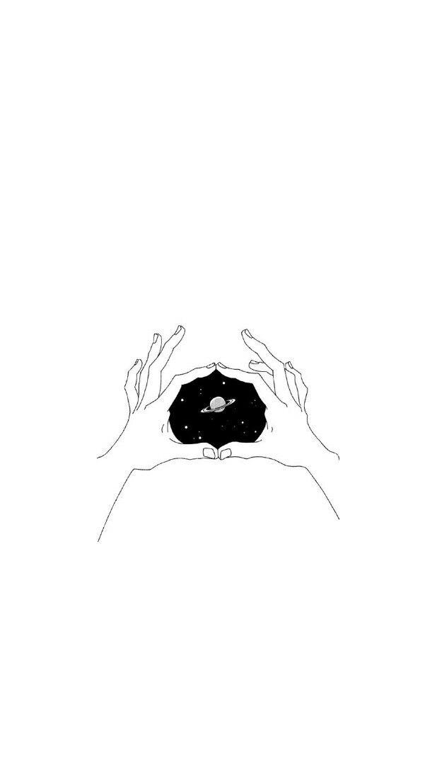 Pin by 𝖒𝖔𝖔𝖓𝖈𝖍𝖎𝖑𝖉 🕷 on lockscreens   Minimalist drawing ...
