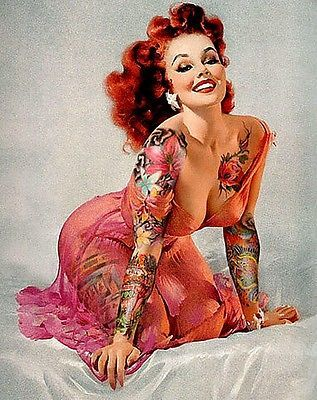 Busty Tattooed Women