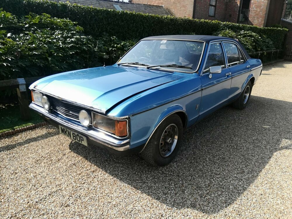 Mk1 Ford Granada S 3000cc Manual Drives Barn Find Very Rare Car Ford Granada Barn Finds Granada