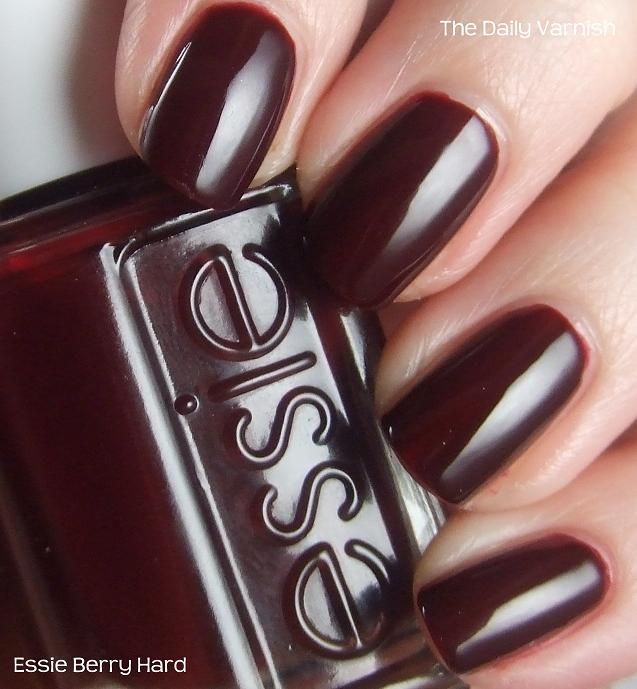 Essie Berry Hard | ♥♥♥♥Makeup and Beauty♥♥♥♥ | Pinterest ...