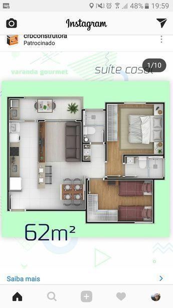 Casa de interes social life plans in house floor also rh pinterest
