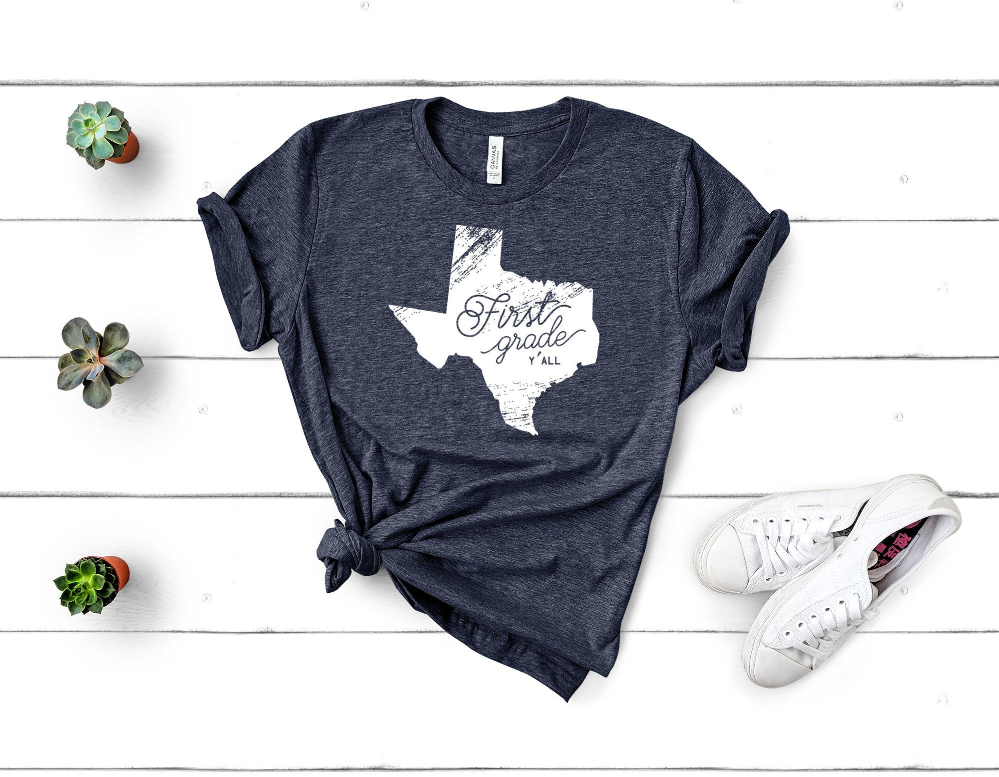 K 6 Teacher Triblend Texas Y All Tshirt