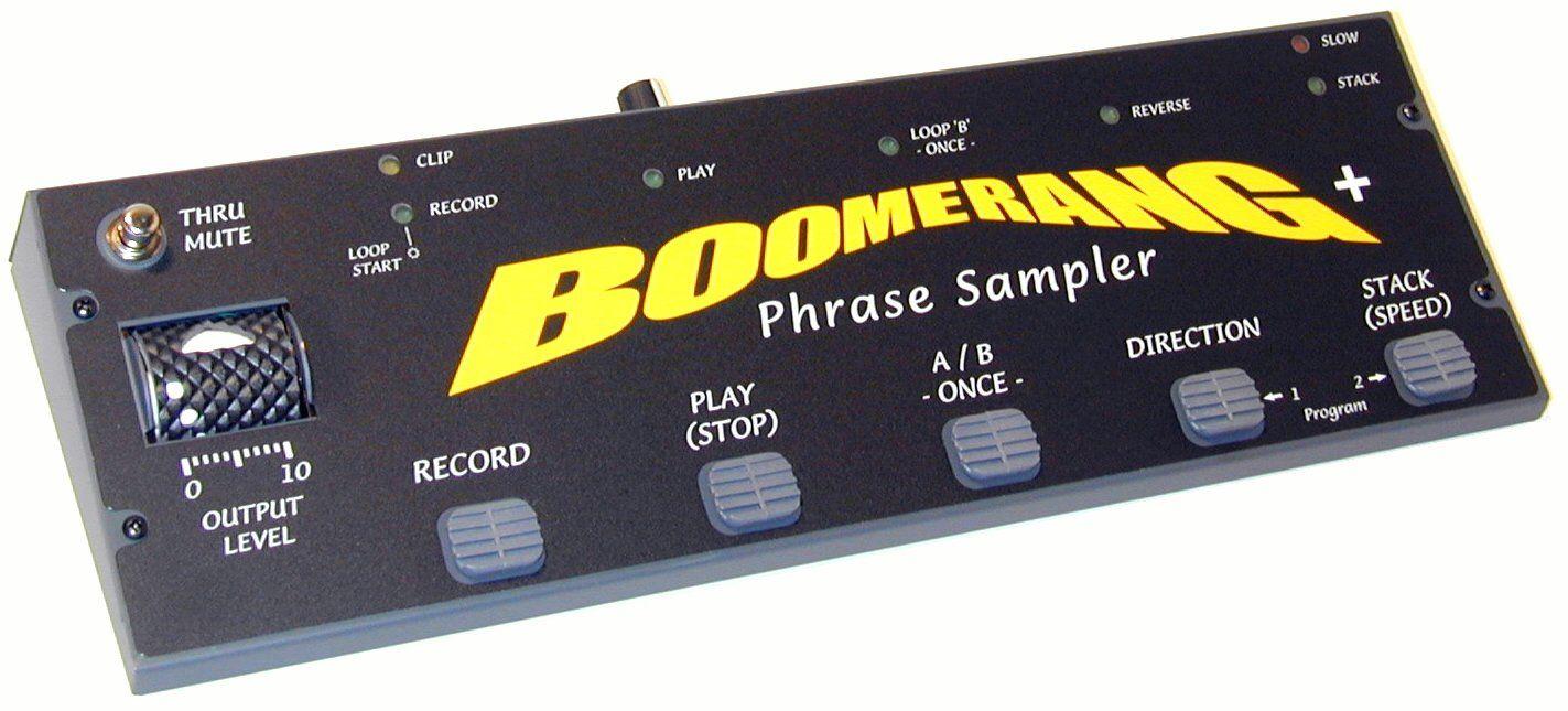 Boomerang Phrase Sampler Pedals Pinterest Guitars