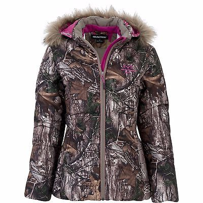 6df95847c4f30 BRAND NEW REALTREE XTRA WOMEN BUBBLE HUNTING JACKET WITH HOOD CAMO  S-M-L-XL-2XL