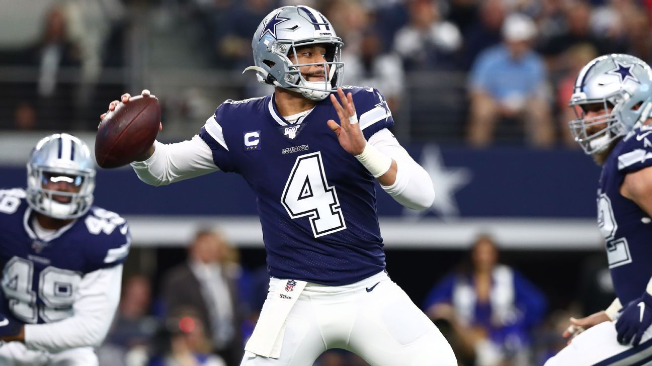 Garrett Dak Working Through Little Finger Injury National Football League News Nfl News Football League National Football League