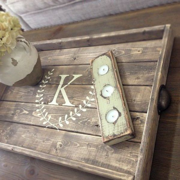 Awesome Pallet Tray Designs Easy Diy And Crafts Pallet Tray