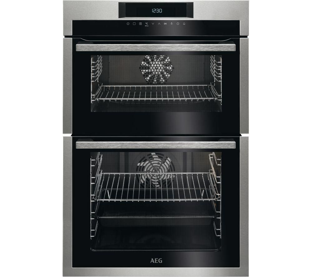 Anti Fingerprint Stainless Steeltouch Controlslcd Displayfully Programmable Timertop Oven Net C Built In Double Ovens Stainless Steel Oven Electric Double Oven