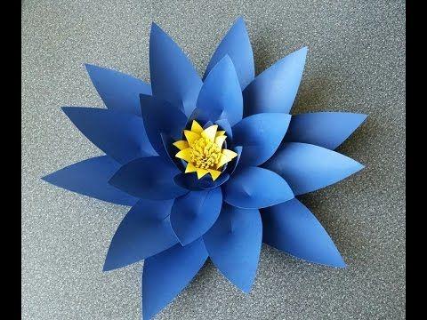 How to make alicia paper flower youtube window props pinterest how to make alicia paper flower youtube mightylinksfo