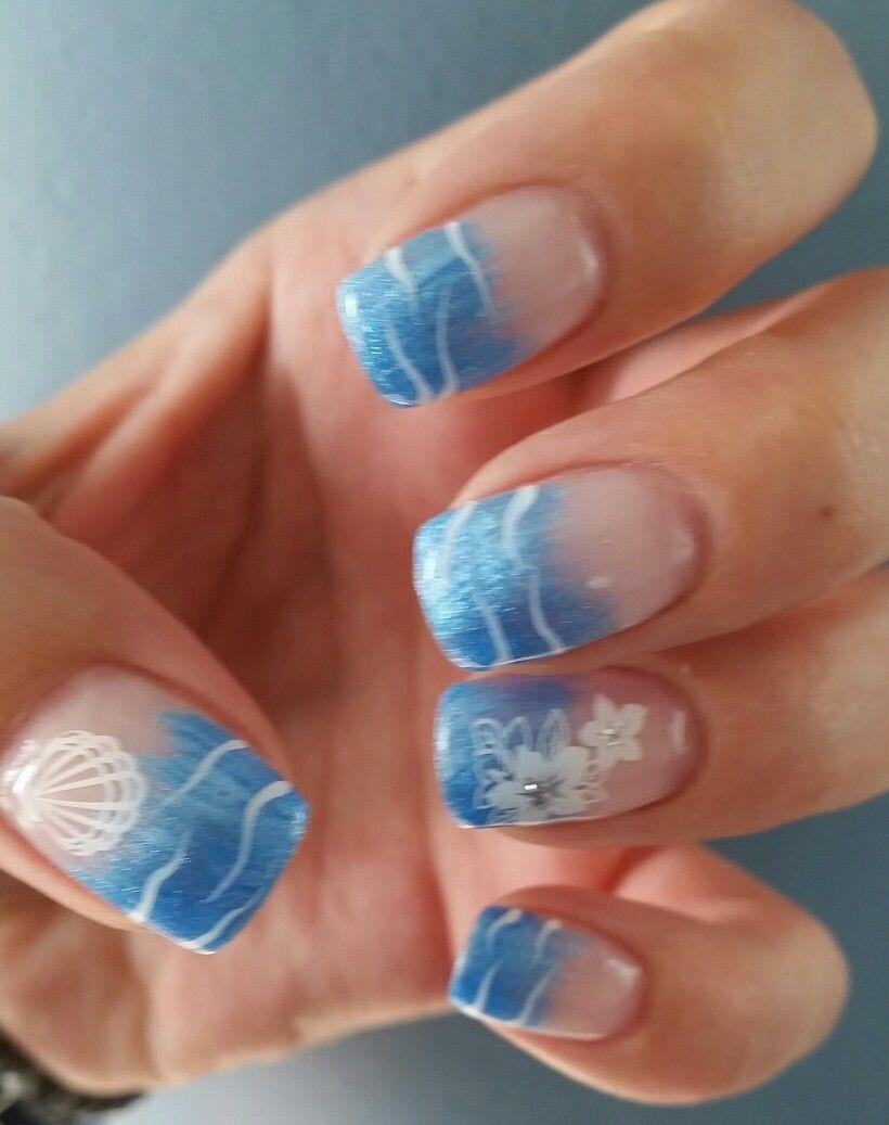 Urlaubsnägel | Nail Art | Pinterest | Nagelschere, Nageldesign und Nails