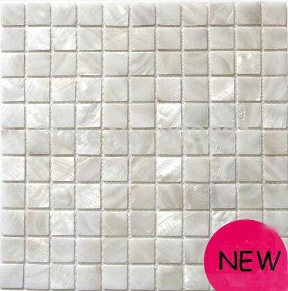 11 sq.ft / lot white shell mosaic tile kitchen backplash