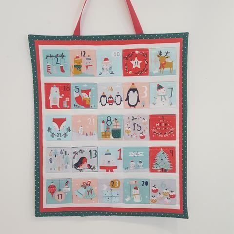 MAKE an Advent Calendar Advent calendars and Stitch