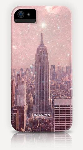 """iPhone Hülle """"Stardust Covering NY"""""""
