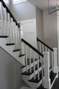 Custom Urban Farmhouse Farmhouse Staircase