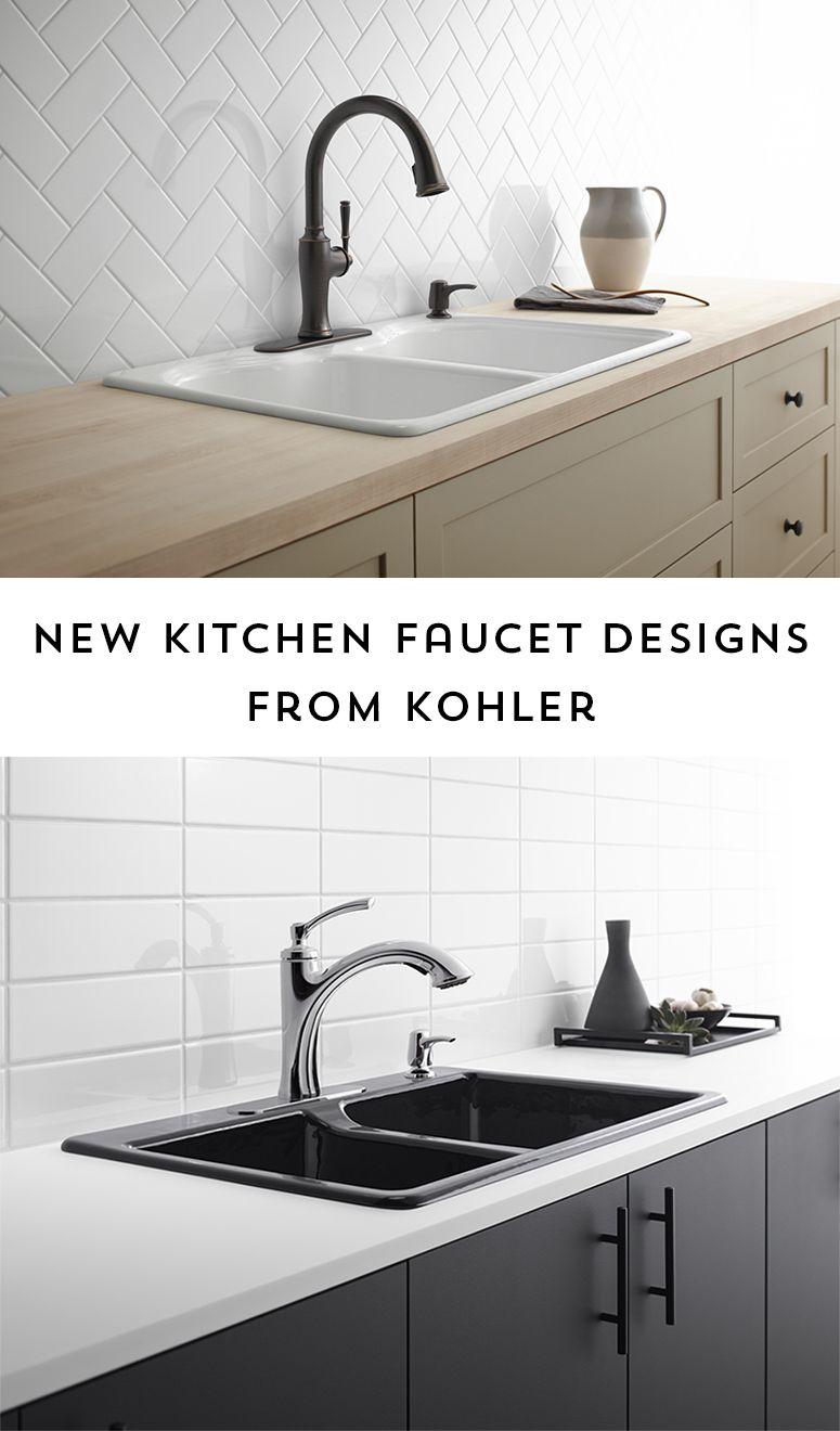 Kohler Kitchen Faucets Designs With Images Kitchen Faucet