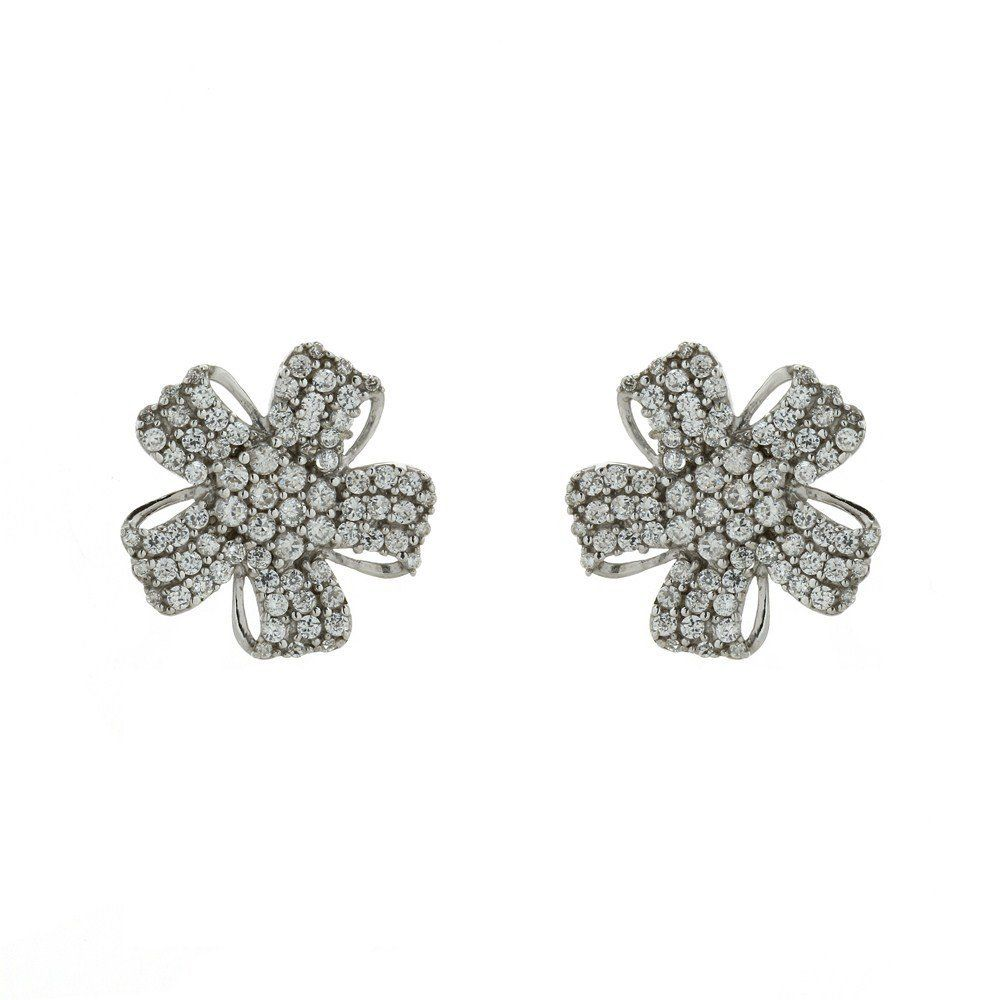 Indian Micro Pave Stud Earrings Jewelry For Women: ShalinCraft: Amazon.de: Jewelry