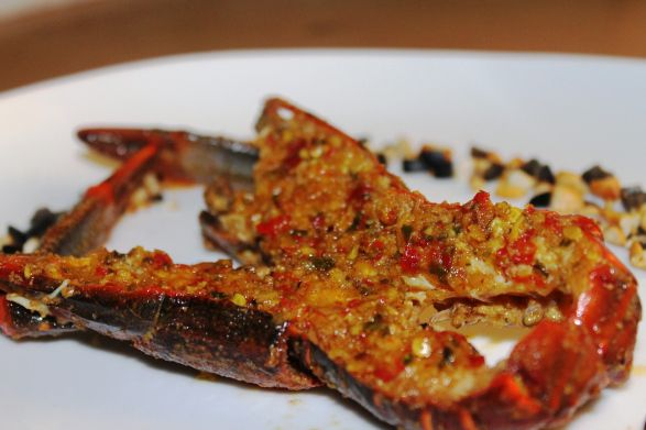 Resep Grilled Lobster With Spicy Chilli Sauce Ala Dentist Chef Resep Lobster Resep Makanan