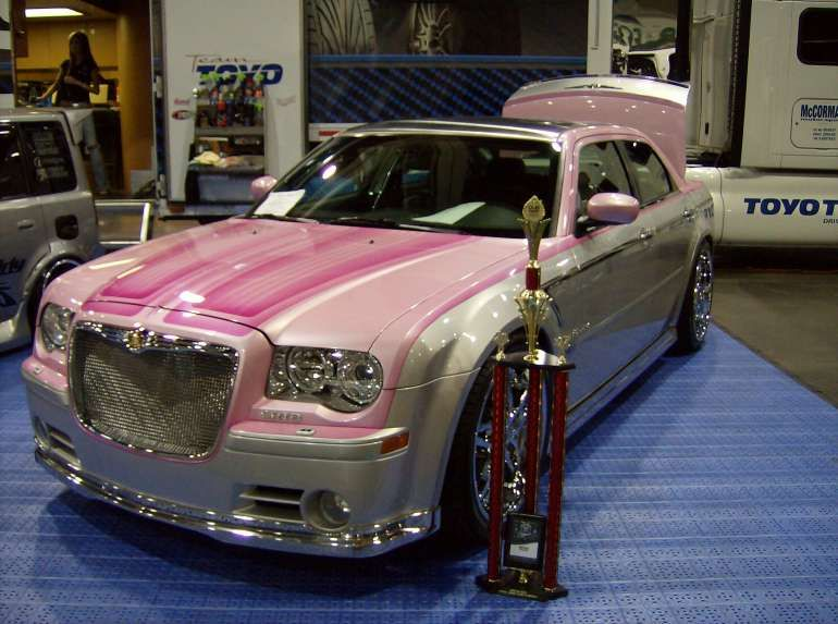 Pink Chrysler 300 Chrysler Cars Chrysler 300 Chrysler 300 Custom