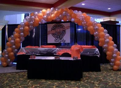 harley davidson party decorating ideas   American Cancer Society ...
