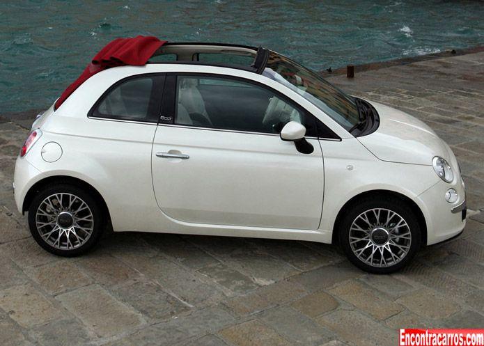 Fiat 500 Cabrio Versao Sem Capota Do Cinquecento Chega Por R 57 900