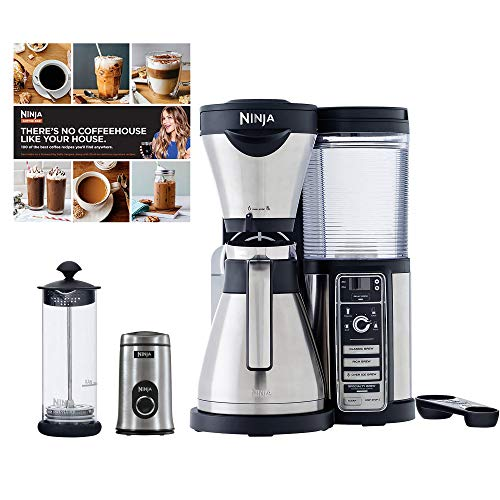 Ninja Coffee Bar, Carafe, Frother, Recipes & Grinder in