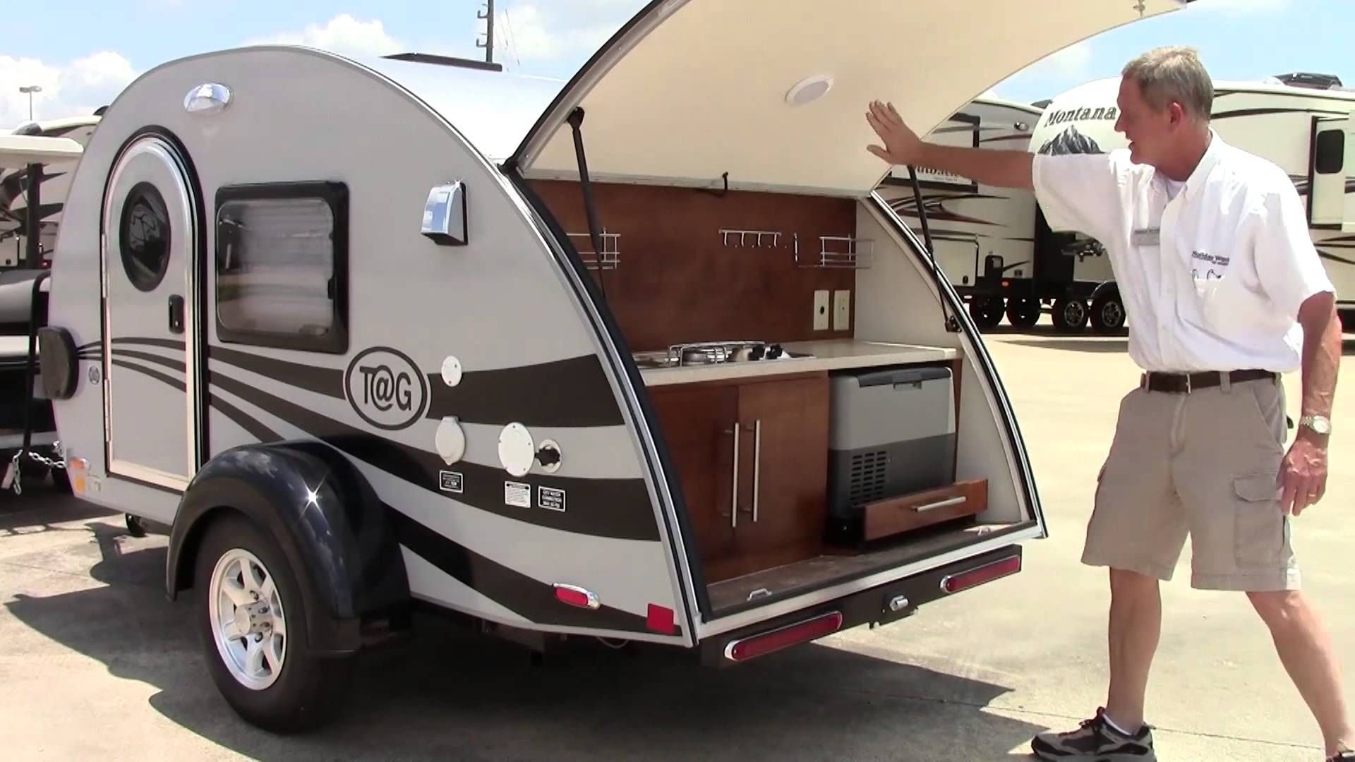 New 2015 Little Guy Teardrop Tag Travel Trailer RV - Holiday