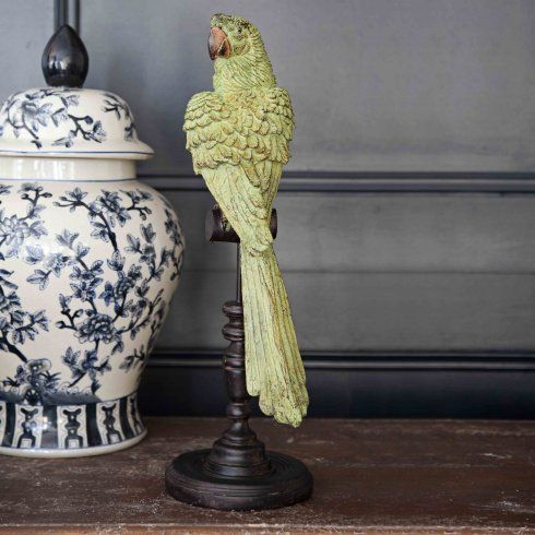 Pip the Parrot on a Perch - from Niche Living UK