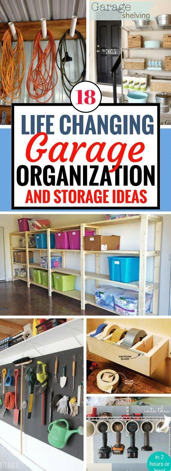 these garage organization and storage ideas have made my on best garage organization and storage hacks ideas start for organizing your garage id=78419