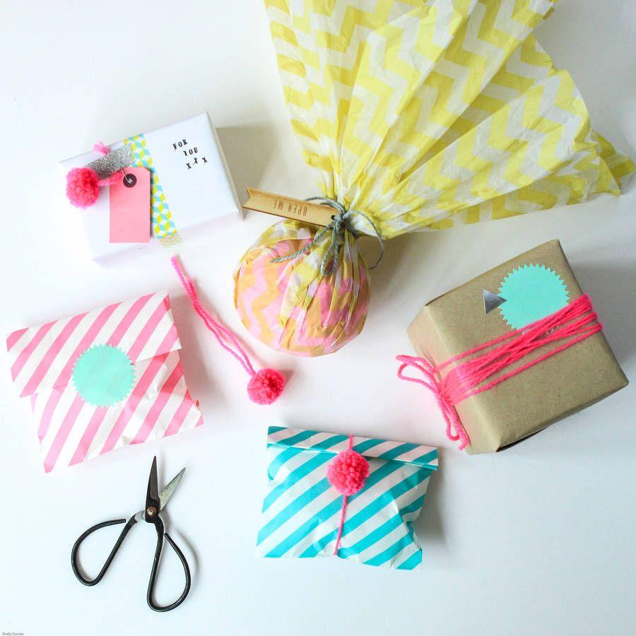 Colour Pop Modern Gift Wrap Pack | Colour pop