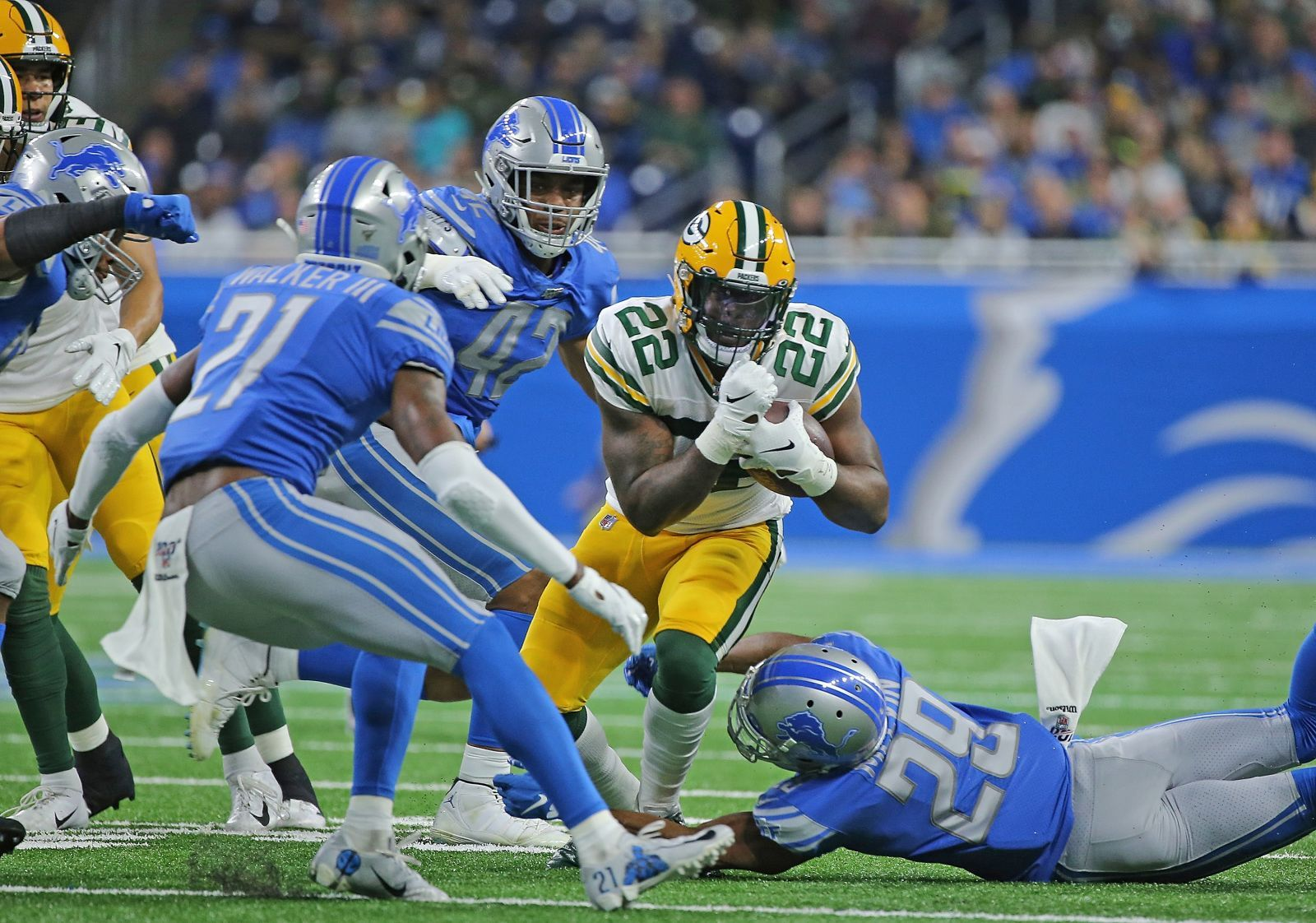 Detroit Lions Sequel With Packers Ends Just Like The First National Football League News Nfl News National Football National Football League