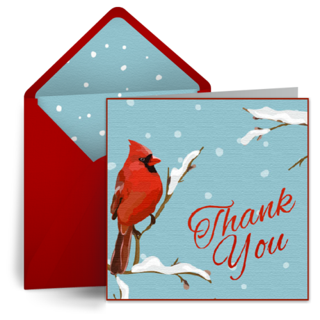 send free digital holiday and christmas thank you cards we love